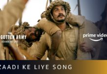 Azadi Ke Liye Lyrics - The Forgotten Army 2020 | Lyricsal