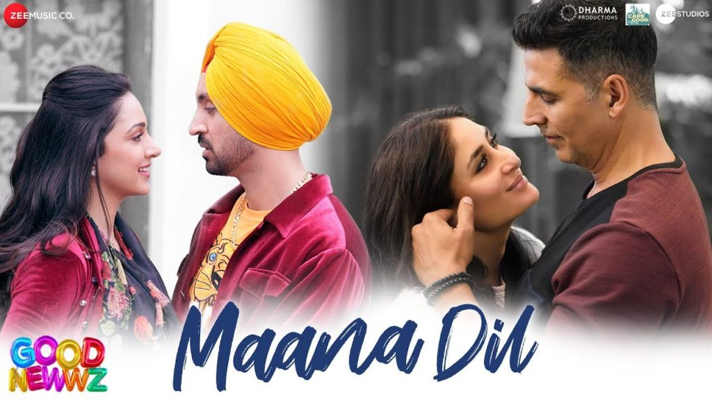 Maana Dil Lyrics माना दिल – Good Newwz | B Praak