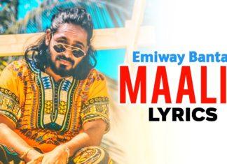 Maalik Lyrics Emiway Bantai 2020